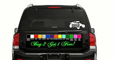 "8"" Glamis Dunes Sandrail sticker decal truck window bumper trailer sand car atv"