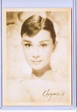 VINTAGE REPRO AUDREY HEPBURN CELEBRITY REPRODUCTION POSTCARD