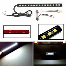 White 15 LED light bar kit for license plate, DRL/Fog, trunk, footwell, door #Q4