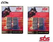 Honda CBR 1000 RR Fireblade C-ABS 09-14 SBS 809HS FRONT BRAKE PADS Street Sinter