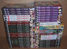 Lot of 41 Alice in the Country of Clover,Joker Manga Graphic Novels Set English