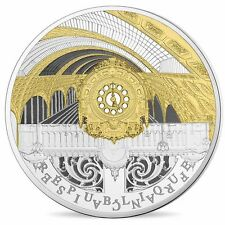 """2016 France 10 Euro Silver Proof Coin """"Seine Banks: Orsay & Petit Palais"""" #1138"""