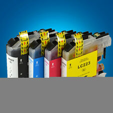 4 Ink Cartridge for Brother LC223 DCP-J4120DW MFC-J5625DW MFC-J5720DW