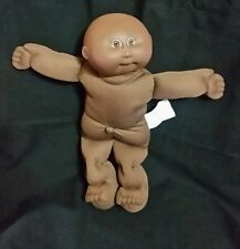 "1982 Cabbage Patch Kids Xavier Roberts 13"" Doll Bald African American Baby Boy"