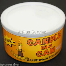 50 Hour Emergency Survival Candle in a Can for Camping Hiking Car Survival Kits