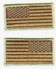 SEAL SPECIAL WARFARE OPERATORS ODA SHOULDER DESERT DD US FLAG R/L νeΙ©®⚙��PATCH