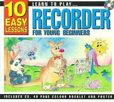 Learn to Play Recorder for Young Beginners [Slipcase] by Various Artists (CD, M…