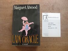 LADY ORACLE by Margaret Atwood  - 1st/1st - HCDJ  - 1976 - NF - review copy