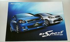 2004 Honda Stream Mugen M7 Sport Performance Catalog Brochure