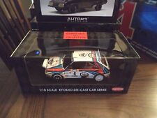 1/18 KYOSHO - LANCIA DELTA HF INTEGRALE NIGHT RACE MONTE CARLO RALLY #4 (08342A)