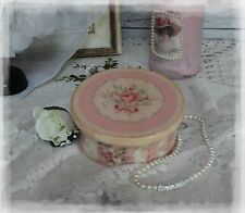 "~ Victorian ~ Wooden~Vintage~Shabby~Chic Decor~JEWELRY BOX ~ ""Faded Roses..."" ~"