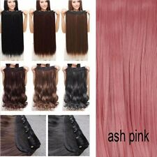 Deluxe Human 100% Ombre Dip Dye full head clip in hair extensions as real hair K