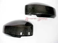 REAL 3D GLOSSY CARBON FIBER SIDE MIRROR COVER CAP PAIR FOR '03-'08 NISSAN 350Z