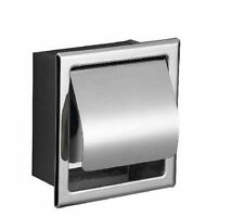New Chrome Finish Bathroom Toilet Paper Holder Wall Mounted Roll Paper Holder