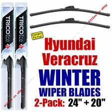 WINTER Wipers 2-Pack Premium Grade - fit 2007-2012 Hyundai Veracruz - 35240/200