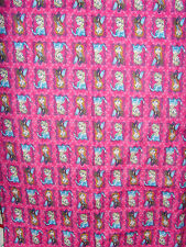 Pink NEW Sister Framed fabric material FLANNEL 42 x 72 in Disney sewing kids