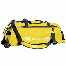 Vise Yellow 3 Ball Tote Bowling Bag With Shoe Pouch