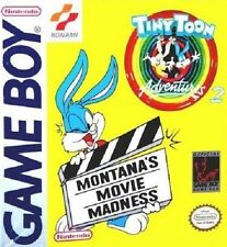 Tiny Toon Adventures 2 Montana's Movie Madness Gameboy Great Condition