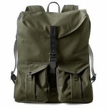 New Filson Harvey Backpack Tempered Cotton/Leather Laptop/Camera Bag MSRP $375