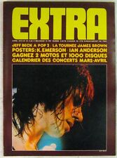 Revue EXTRA Avril 1973 Jeff Beck James Brown