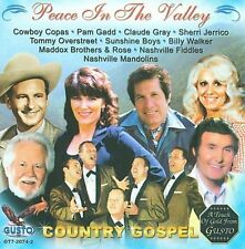 PEACE IN THE VALLEY: COUNTRY GOSPEL NEW CD