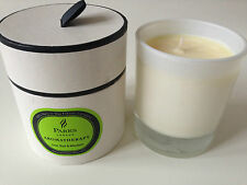PARKS LIME, BASIL AND MANDARIN AROMATHERAPY SINGLE WICK CANDLE. BNIB. RRP £30