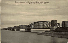 Moerdijk Niederlande Nederland Nordbrabant ~1910 Spoorbrug Brücke Brug Eisenbahn