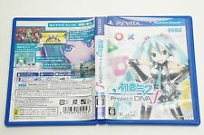 Hatsune Miku Project DIVA F PSV SEGA Sony Playstation Vita Japan USED