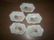 CLEARANCE 5 -  Leuchtenburg Germany Small Dish w / Roses Vintage German