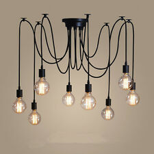 Large Chandelier Lighting Vintage Pendant Ceiling Light Fixture Kitchen LED Lamp