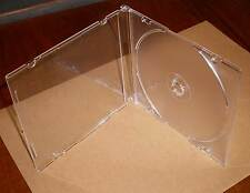 CD Hülle durchsichtig transparent Cases Hülle Maxi SLIM Slimcase 5 mm 0,5 cm Neu
