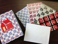 House Quilt 4 Designs 20 Cute Quilting Blank Note Cards with Envelopes WZ47609