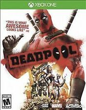 MARVEL DEADPOOL XBOX ONE NEW! FIGHT, ACTION COMBAT COMBO SKILLS! XMEN CAMEOS