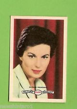 #D160. 1958-64  ATLANTIC PETROLEUM FILM STARS CARD #17  SILNANA MANGANO