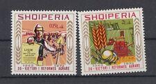 Albania 1975 30 anniversario della riforma agraria 1800-01 Mnh