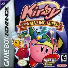 Kirby & the Amazing Mirror - Game Boy Advance GBA Game