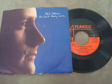 "PHIL COLLINS- YOU CAN'T HURRY LOVE/ DO YOU KNOW DO YOU CARE?   7"" SINGLE"
