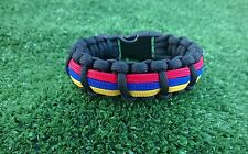 Copa America 2015 Paracord Bracelet, Colombia Soccer Team America Cup 2015