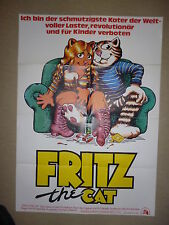 Fritz The Cat  - Original Filmplakat