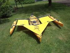 yellow Hobie  Adventure  Tandem  Kayak  Trampoline & splash  shield set