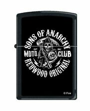 BRIQUET ZIPPO NEUF - SONS OF ANARCHY MOTO CLUB ( SAMCRO )