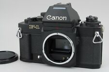 【NEAR MINT】Canon New F-1 AE Finder 35mm SLR Film Camera Black  From Japan #1542