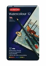 Derwent Watercolour Pencils 12 Tin