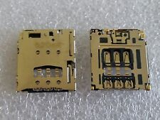 Original Sim Slot Simkarten Kontakte Leser Pins für Blackberry Z30