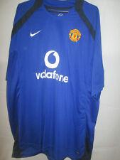 Manchester United 2004-2005 Training Leisure Red Devils Football Shirt XXL /5952