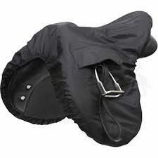 Brand New Shires Waterproof Ride On Saddle Cover One Size Black