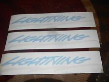1993 1994 1995 FORD LIGHTNING F-150 SVT QUARTER PANEL AND TAILGATE DECAL SET 3L