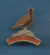 Pin's pin WHISKY THE FAMOUS GROUSE (ref 086)