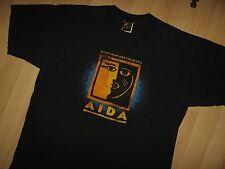 Aida Musical Tee - Elton John Tim Rice Broadway Show Vintage Grunge T Shirt XLrg