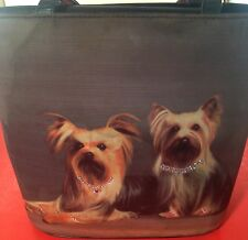 RARE Yorkshire Terrier Dog Handbag / Purse for Women / Girls - Vintage 1980s